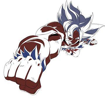 Goku Ultra Instinct by Dielissa