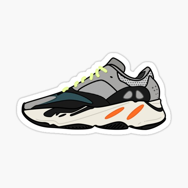 Yeezy Boost 700 | Wave Runner Sticker