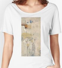House builders, Cairo by Arthur Streeton Women's Relaxed Fit T-Shirt