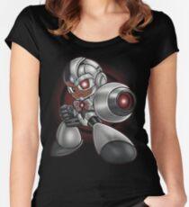 MEGA CYBORG Women's Fitted Scoop T-Shirt