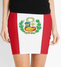 Peru Flag Mini Skirt