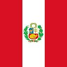 Peru Flag by stoopiditees