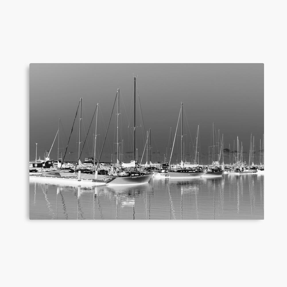 Boats and Reflections Leinwanddruck