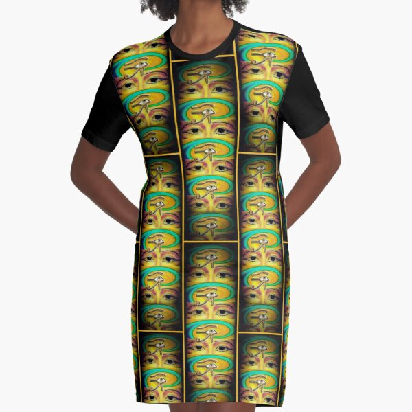 The Magical Ra Emanation Graphic T-Shirt Dress