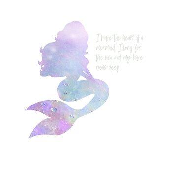 Heart of a Mermaid by HeartZenMinds