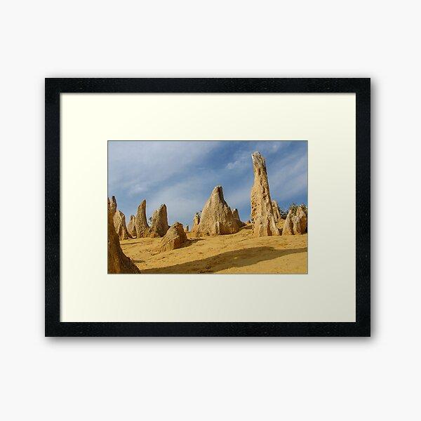 The Pinnacles - Close up Framed Art Print