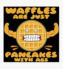 Waffles6Pack Photographic Print