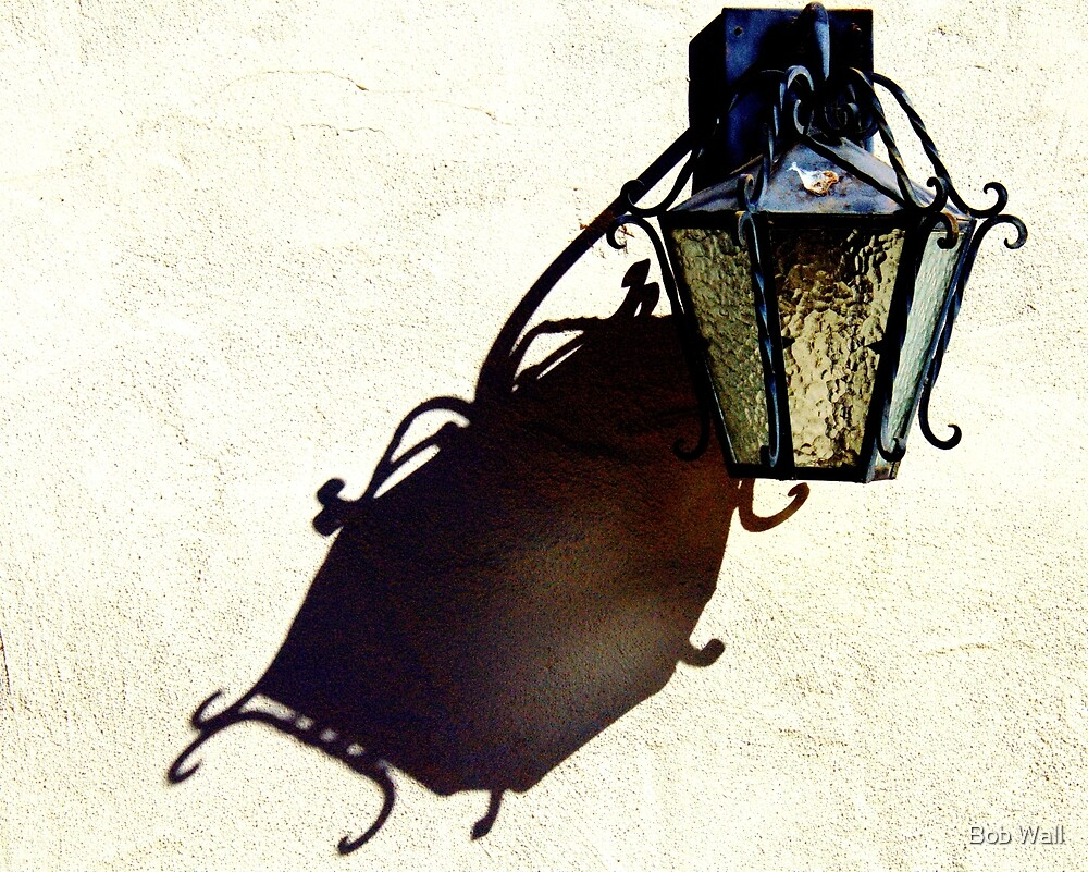 Sconce and Shadow by Bob Wall
