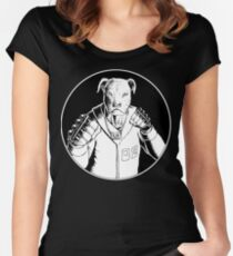 Arkady Mono Edition Women's Fitted Scoop T-Shirt