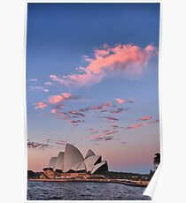 Sunset at Bennelong Point I Poster