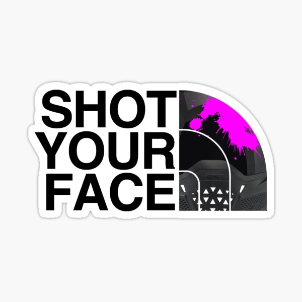 SHOT YOUR FACE Sticker