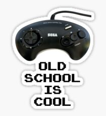 Old School Is Cool - Mega Drive Sticker