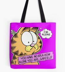 Bolsa de tela Garfield está solo