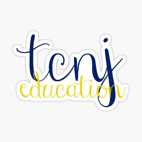 TCNJ Education Sticker  Sticker