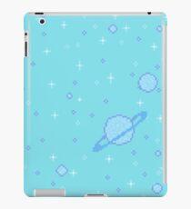 Saturn-Muster iPad-Hülle & Klebefolie