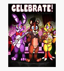 Five Nights At Freddy's - Celebrate! Photographic Print
