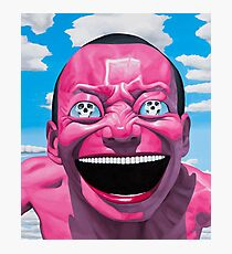 Pink Face Photographic Print