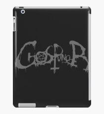 Ghostpuncher Logo Gray iPad Case/Skin