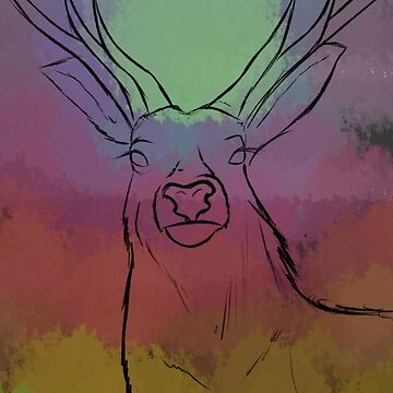 The Deer by Maxiomatic