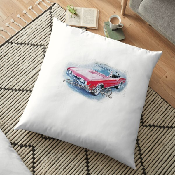 Oldsmobile 442  Floor Pillow