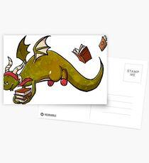 Book dragon 2 Postcards