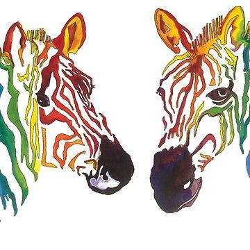 Zebra stripe by milesdesignart