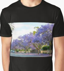 Adelaide streets in November Graphic T-Shirt
