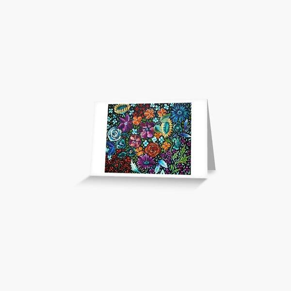 Pastel Floral Greeting Card