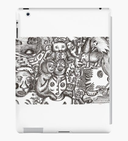 Escapees from the mind iPad Case/Skin