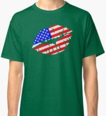 United States kiss flag Classic T-Shirt