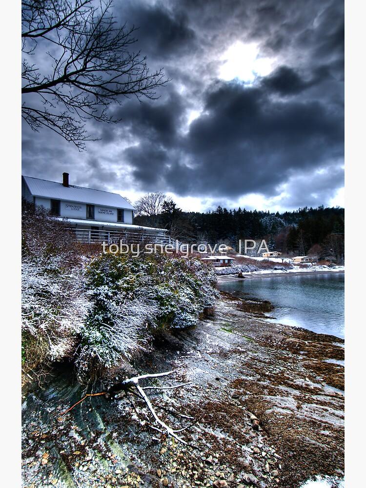 Springwater Lodge, Mayne Island by tobysnelgrove