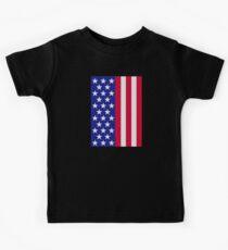US stars and stripes flag Kids Tee