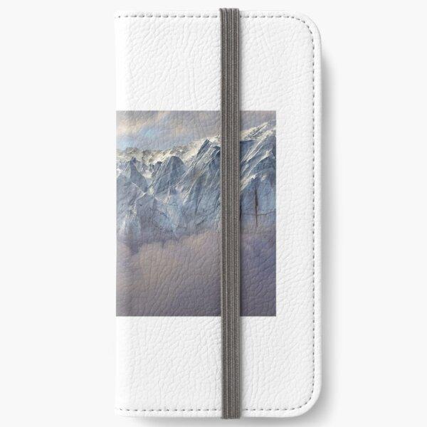 Himalayan ice pinnacles iPhone Wallet