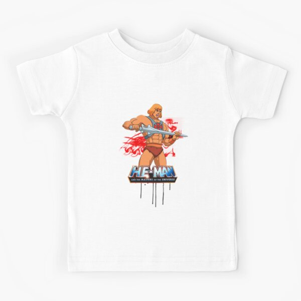 Masters Of The Universe I Have The Power He Man Kid/'s T-Shirt