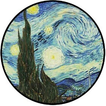 Starry Night Sticker by cheyenne9229