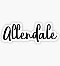 Allendale Sticker