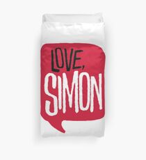 love, simon Duvet Cover