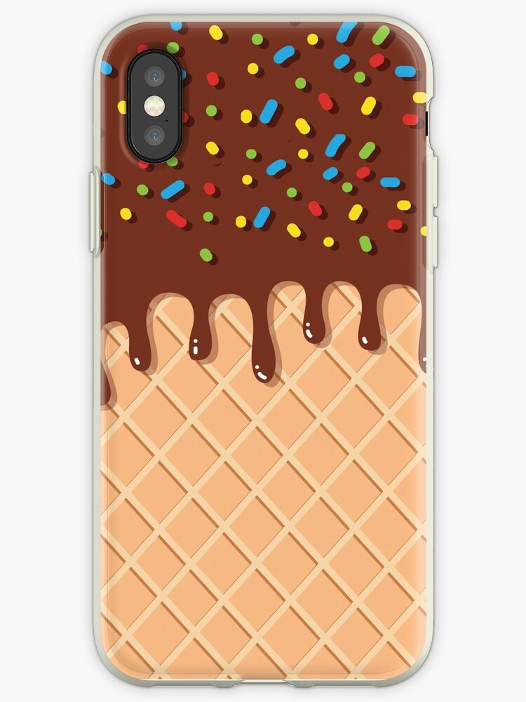 the latest c3e7d 181dc 'Iphone Android Phone Cases Ice Cream Phone Case' iPhone Case by Makx Media