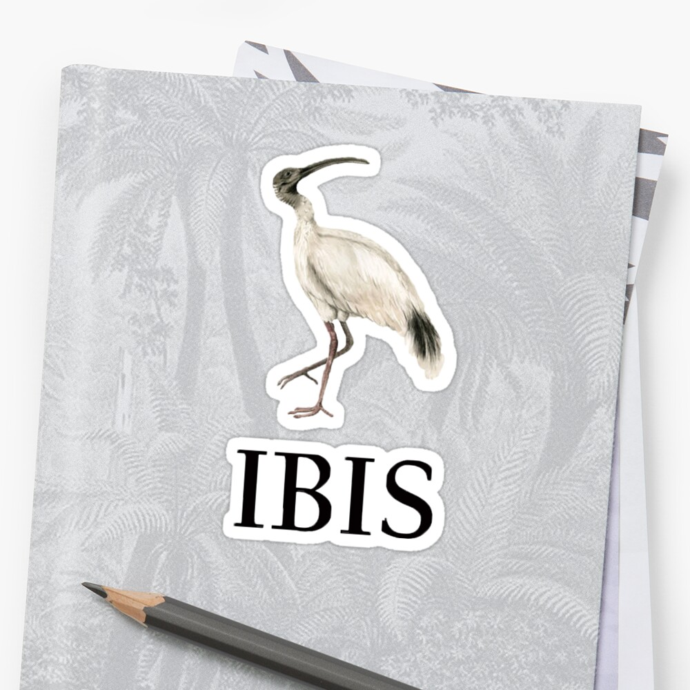 IBIS - Bin Chicken Ralph Lauren Stickers