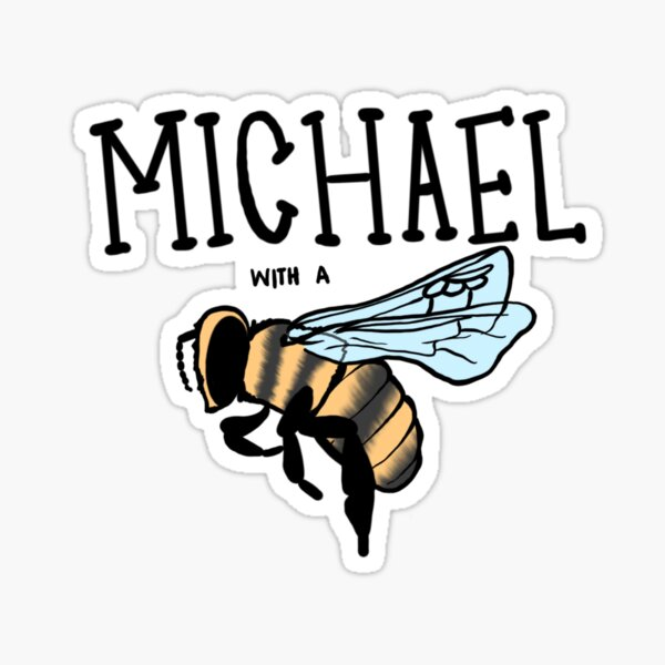 hi my name is Michael with a b... Sticker