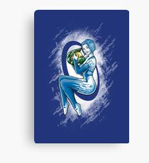 Space PinUp Canvas Print