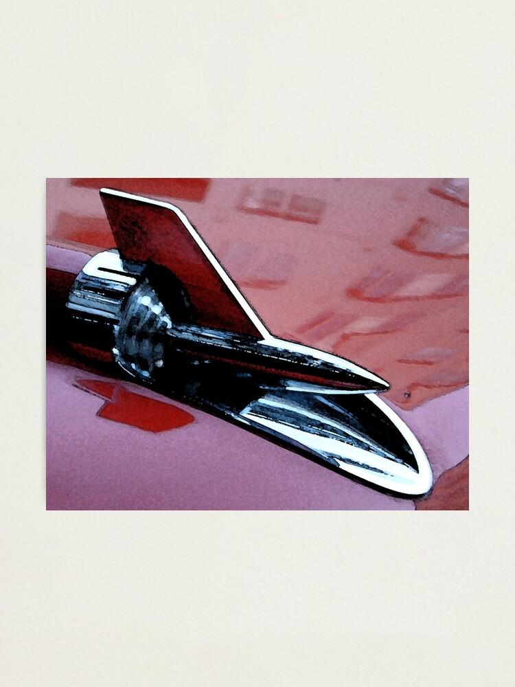 Alternate view of Red 57 Chevy Photographic Print