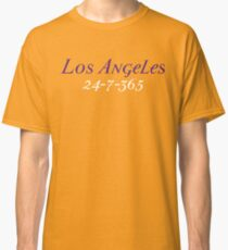 Los Angeles 24-7-365 Shirt - Gift For Los Angeles Fans Classic T-Shirt