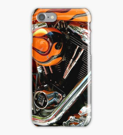 Flames and Chrome iPhone Case/Skin