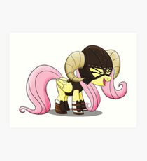 Fluttershy is the D'awwvahkiin (My Little Pony: Friendship is Magic) Art Print