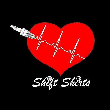 Shift Shirts Spark My Heart - Automotive Love by ShiftShirts