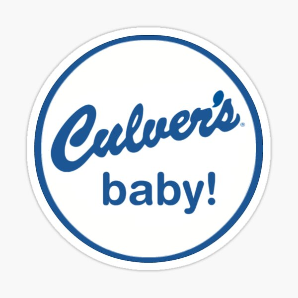 Culver's baby! Sticker