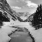 Lake Louise creek by zumi