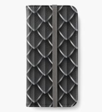 Dragon Scales: Black iPhone Wallet/Case/Skin
