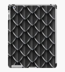 Dragon Scales: Black iPad Case/Skin